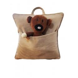 Тениска Вълк със зелени очи