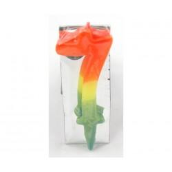 Handmade icon St. Mina