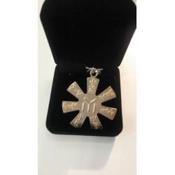 Chocolate pot with cactus