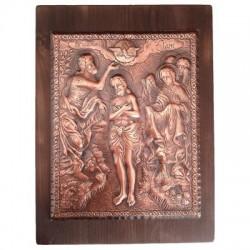 Червено вино с икона на Свети Димитър