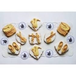 Шаблон за декорация - Птица и рози, Craftabilia